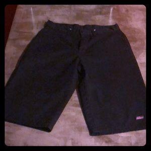 Men's black dickies shorts size 32
